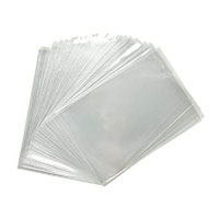 CASE OF CLEAR CELLO COOKIE BAGS